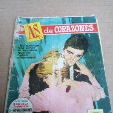 Tebeos: AS DE CORAZONES. TEBEO DE 1962. Lote 120411911
