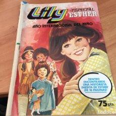 Tebeos: LILY ESPECIAL ESTHER Nº 6 AÑO INTERNACIONAL NIÑO (BRUGUERA) (COI70). Lote 120464711
