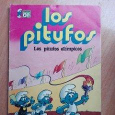 Tebeos: LOS PITUFOS OLIMPICOS.1980. Lote 120495271