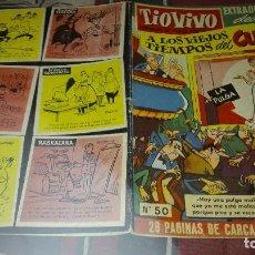 Tebeos: TIO VIVO Nº50 EXTRAORDINARIO DEDICADO A LOS VIEJOS TIEMPOS DEL CUPLE PRIMERA EPOCA. Lote 120678603