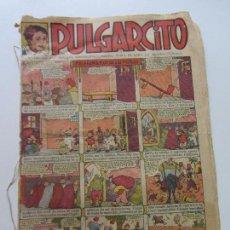 Tebeos: PULGARCITO (1921, GATO NEGRO) Nº 643 AÑO XVIII· 1933 · PULGARCITO MUY RARO! CS118. Lote 120696167