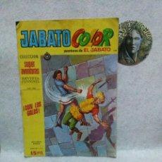 Tebeos: JABATO COLOR Nº 1860. COLECCION SUPER AVENTURAS. BRUGUERA.SEGUNDA EPOCA....CON SEÑALES DE USO.. Lote 120864407