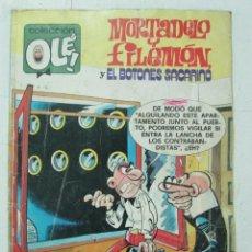 Tebeos: COLECCIÓN OLÉ. MORTADELO Y FILEMON Y EL BOTONES SACARINO Nº 167 1988. Lote 120878155