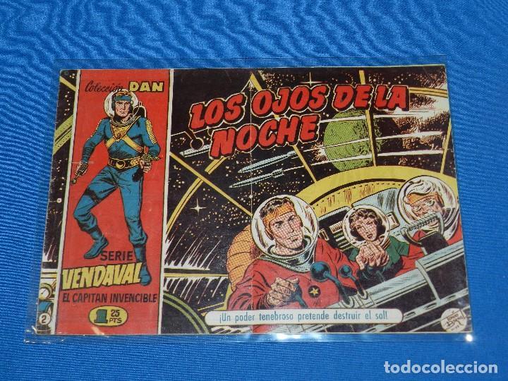 (M0) SERIE VENDAVAL EL CAPITAN INVENCIBLE NUM 2 , COLECCION DAN , EDT BRUGUERA, (Tebeos y Comics - Bruguera - Cuadernillos Varios)