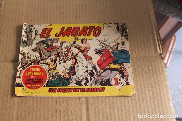 EL JABATO Nº 6, EDITORIAL BRUGUERA (Tebeos y Comics - Bruguera - Jabato)