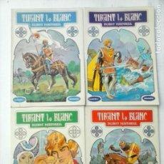 Tebeos: TIRANT LO BLANC 1 AL 4 COMPLETA EDITORIAL BRUGUERA 1982. Lote 120973247