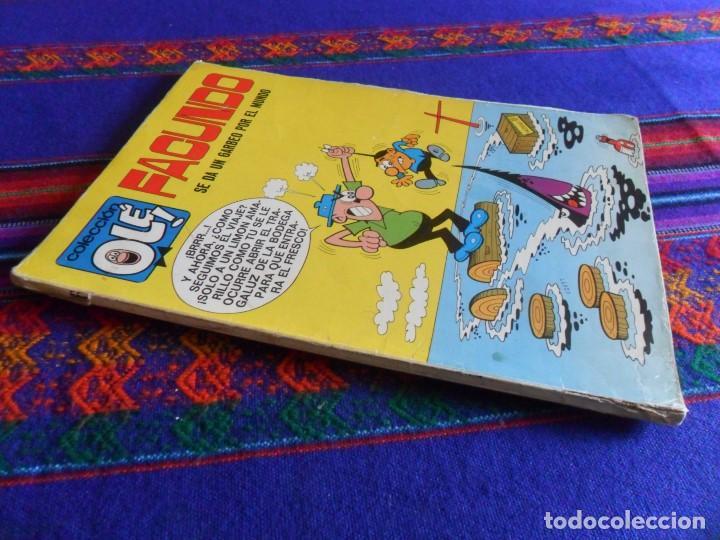 OLÉ Nº 16 FACUNDO BRUGUERA 1ª PRIMERA EDICIÓN Nº LOMO 1971 40 PTS SE DA UN GARBEO POR EL MUNDO. RARO (Tebeos y Comics - Bruguera - Ole)