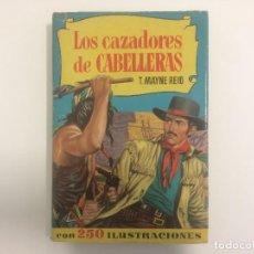 Tebeos: BRUGUERA - COLECCION HISTORIAS - LOS CAZADORES DE CABELLERAS - T. MAYNE REID - Nº 55 - 1ª ED 1958. Lote 121101235
