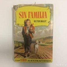 Tebeos: BRUGUERA - COLECCION HISTORIAS - SIN FAMILIA - HECTOR MALOT - Nº 22 - 2ª ED 1958. Lote 121103879