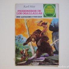 Tebeos: EMILIO SALGARI. LA CIUDAD DEL REY LEPROSO Nº 188 - 1ª EDICION - JOYAS LITERARIAS JUVENILES. Lote 121133419