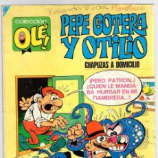 Tebeos: PEPE GOTERA Y OTILIO. CHAPUZAS A DOMICILIO. Nº 1. BRUGUERA. 7ª EDICION, AÑO 1984. Lote 121223691