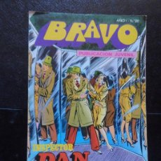 Tebeos: BRAVO. Nº 20 INSPECTOR DAN. Nº 10 EDITORIAL BRUGUERA. . Lote 121267595