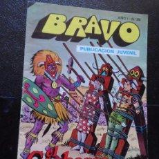 Tebeos: BRAVO. Nº 29 EL CACHORRO Nº 15 EDITORIAL BRUGUERA. . Lote 121267939