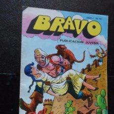 Tebeos: BRAVO. Nº 15 EL CACHORRO Nº 8 EDITORIAL BRUGUERA. . Lote 121268203
