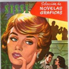 Tebeos: SISSI SELECCION DE NOVELAS GRAFICAS. ANUNCIO DE BODAS. Nº 51. 23 DE MAYO DE 1960. BRUGUERA. Lote 121312427