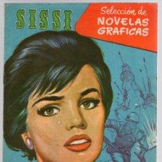 Tebeos: SISSI SELECCION DE NOVELAS GRAFICAS. COMANDO DE AMOR. Nº 52. 30 DE MAYO DE 1960. BRUGUERA. Lote 121312500