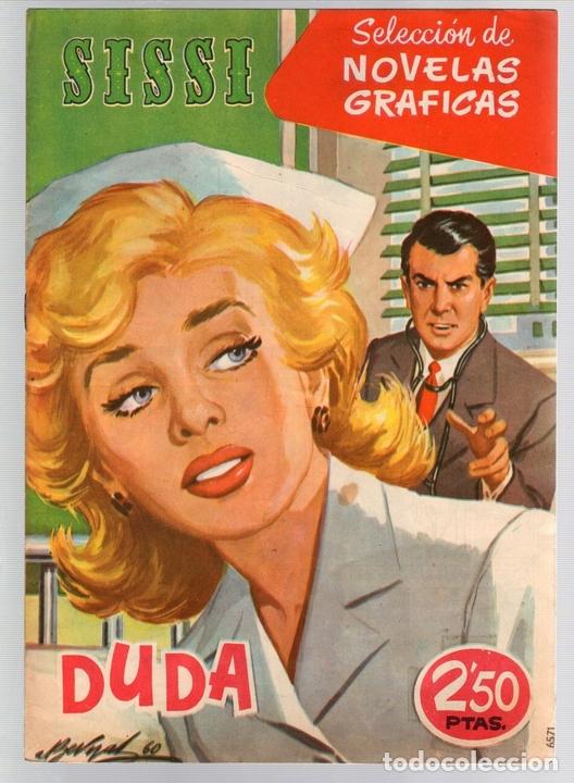 SISSI SELECCION DE NOVELAS GRAFICAS. DUDA. Nº 54. 3 DE JUNIO DE 1960. BRUGUERA (Tebeos y Comics - Bruguera - Sissi)
