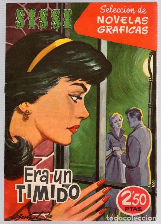 SISSI SELECCION DE NOVELAS GRAFICAS. ERA UN TIMIDO. Nº 56. 27 DE JUNIO DE 1960. BRUGUERA (Tebeos y Comics - Bruguera - Sissi)