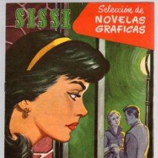 Tebeos: SISSI SELECCION DE NOVELAS GRAFICAS. ERA UN TIMIDO. Nº 56. 27 DE JUNIO DE 1960. BRUGUERA. Lote 121312863