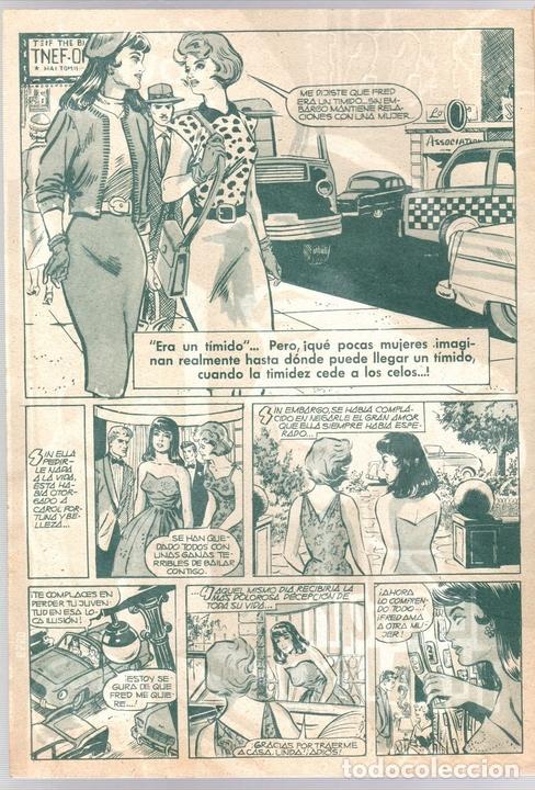 Tebeos: SISSI SELECCION DE NOVELAS GRAFICAS. ERA UN TIMIDO. Nº 56. 27 DE JUNIO DE 1960. BRUGUERA - Foto 2 - 121312863