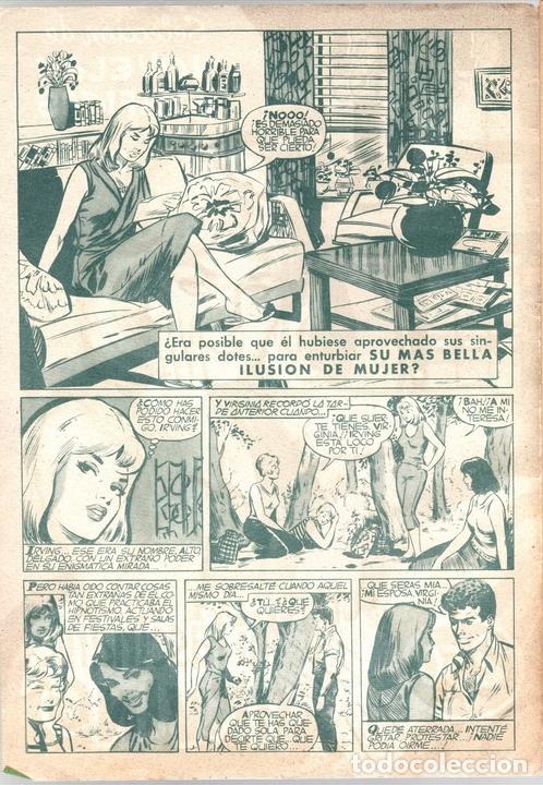 Tebeos: SISSI SELECCION DE NOVELAS GRAFICAS. MI FASCINANTE IRVING. Nº 58. 11 DE JULIO DE 1960. BRUGUERA - Foto 2 - 121312987
