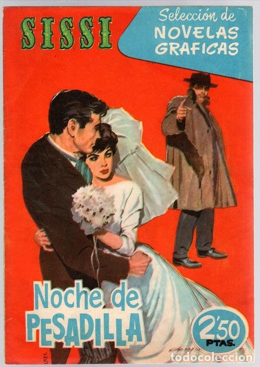 SISSI SELECCION DE NOVELAS GRAFICAS. NOCHE DE PESADILLA. Nº 59. 18 DE JULIO DE 1960. BRUGUERA (Tebeos y Comics - Bruguera - Sissi)