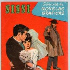 Tebeos: SISSI SELECCION DE NOVELAS GRAFICAS. NOCHE DE PESADILLA. Nº 59. 18 DE JULIO DE 1960. BRUGUERA. Lote 121313120