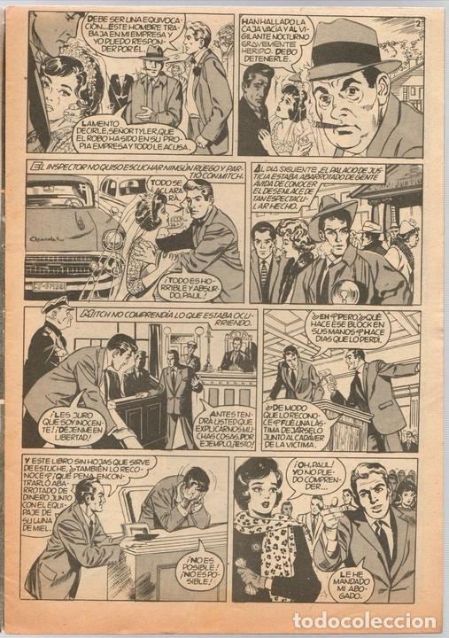 Tebeos: SISSI SELECCION DE NOVELAS GRAFICAS. NOCHE DE PESADILLA. Nº 59. 18 DE JULIO DE 1960. BRUGUERA - Foto 2 - 121313120