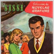Tebeos: SISSI SELECCION DE NOVELAS GRAFICAS. UN MUCHACHO DIFICIL. Nº 60. 25 DE JULIO DE 1960. BRUGUERA. Lote 121313275