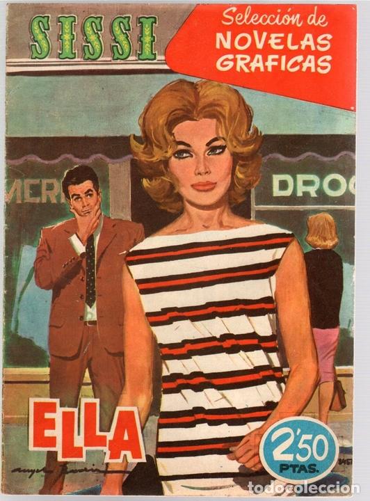 SISSI SELECCION DE NOVELAS GRAFICAS. UN MUCHACHO DIFICIL. Nº 61. 1 DE AGOSTO DE 1960. BRUGUERA (Tebeos y Comics - Bruguera - Sissi)