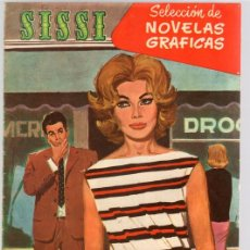 Tebeos: SISSI SELECCION DE NOVELAS GRAFICAS. UN MUCHACHO DIFICIL. Nº 61. 1 DE AGOSTO DE 1960. BRUGUERA. Lote 121313418