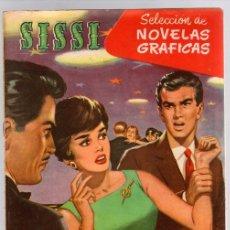 Tebeos: SISSI SELECCION DE NOVELAS GRAFICAS. TRES HOMBRES Y UN AMOR. Nº 62. 8 DE AGOSTO DE 1960. BRUGUERA. Lote 121313548