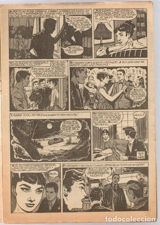 Tebeos: SISSI SELECCION DE NOVELAS GRAFICAS. TRES HOMBRES Y UN AMOR. Nº 62. 8 DE AGOSTO DE 1960. BRUGUERA - Foto 2 - 121313548