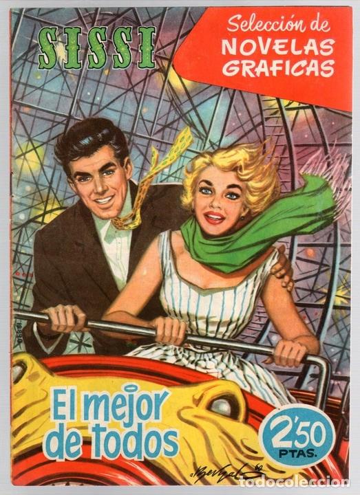 SISSI SELECCION DE NOVELAS GRAFICAS. EL MEJOR DE TODOS. Nº 86. 23 DE ENERO DE 1961. BRUGUERA (Tebeos y Comics - Bruguera - Sissi)