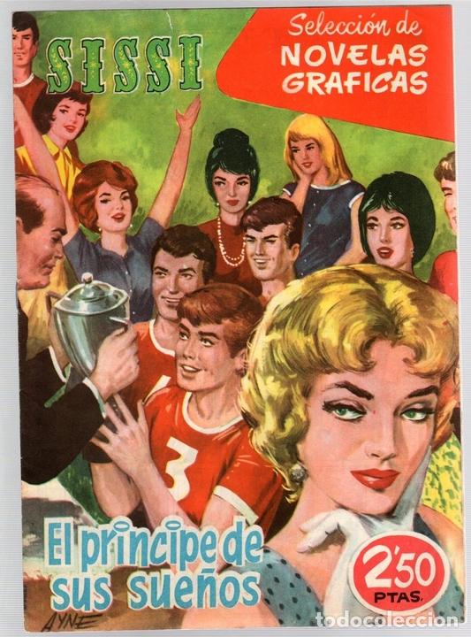 SISSI SELECCION DE NOVELAS GRAFICAS. EL PRINCIPE DE SUS SUEÑOS. Nº 87. 30 DE ENERO DE 1961. BRUGUERA (Tebeos y Comics - Bruguera - Sissi)