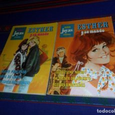 Tebeos: SUPER JOYAS FEMENINAS NºS 3 1ª EDICIÓN 1978 Y 6 2ª EDICIÓN 1981. ESTHER. BRUGUERA. 75 PTS.. Lote 121346267
