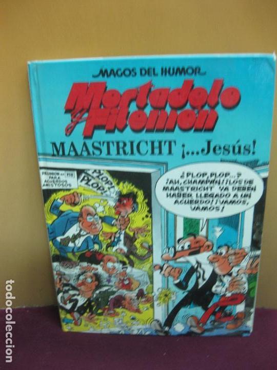 MORTADELO Y FILEMON. MAASTRICHT ¡... JESUS!. MAGOS DEL HUMOR Nº 47. EDICIONES B, 1ª EDICION 1993 (Tebeos y Comics - Bruguera - Mortadelo)