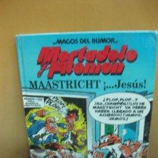 Tebeos: MORTADELO Y FILEMON. MAASTRICHT ¡... JESUS!. MAGOS DEL HUMOR Nº 47. EDICIONES B, 1ª EDICION 1993. Lote 121355603