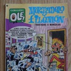 Tebeos: COLECCIÓN OLÉ! - MORTADELO Y FILEMÓN TRASTADAS A MANSALVA ED. BRUGUERA - Nº 140 - 1ª EDICIÓN - 1977. Lote 121440699