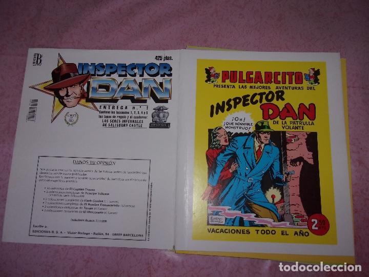 INSPERTOR DAN - FICHAS DE LAS ENTREGAS REEDICIÓN E.B. COMPLETO. (Tebeos y Comics - Bruguera - Inspector Dan)
