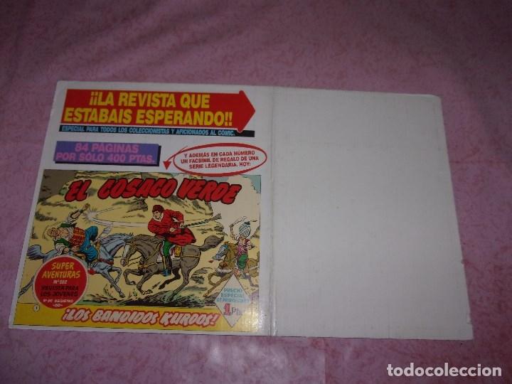 Tebeos: INSPERTOR DAN - FICHAS DE LAS ENTREGAS REEDICIÓN E.B. COMPLETO. - Foto 3 - 121530839