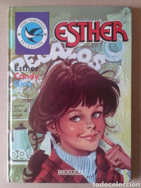 JOYAS FEMENINAS SELECCIÓN, NÚMERO 5: ESTHER / CANDY / GINA (BRUGUERA, 1985). (Tebeos y Comics - Bruguera - Esther)