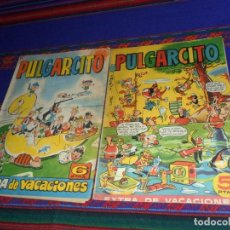Tebeos: PULGARCITO EXTRA VACACIONES 1959 CON CAPITÁN TRUENO. BRUGUERA 5 PTS. REGALO EL DE 1964. RARO.. Lote 121611143
