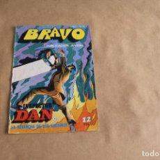 Tebeos: BRAVO Nº 8, CON INSPECTOR DAN, EDITORIAL BRUGUERA. Lote 121629127