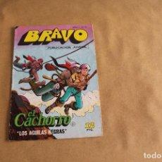 Tebeos: BRAVO Nº 5, CON EL CACHORRO, EDITORIAL BRUGUERA. Lote 121629335