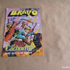Tebeos: BRAVO Nº 17, CON EL CACHORRO, EDITORIAL BRUGUERA. Lote 121629359