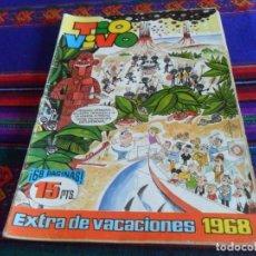Tebeos: TIO VIVO EXTRA DE VACACIONES 1968. BRUGUERA 15 PTS. . Lote 121646079