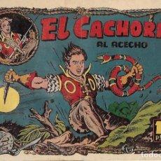 Tebeos: EL CACHORRO Nº 79, IRANZO. EDITORIAL BRUGUERA, ORIGINAL 1954. EL CACHORRO AL ACECHO. Lote 121691543