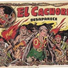 Tebeos: EL CACHORRO Nº 81, IRANZO. EDITORIAL BRUGUERA, ORIGINAL 1954. EL CACHORRO DESAPARECE. Lote 245425965