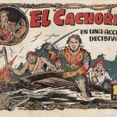 Tebeos: EL CACHORRO Nº 82, IRANZO. EDITORIAL BRUGUERA, ORIGINAL 1954. EL CACHORRO EN UNA ACCIÓN AUDAZ. Lote 121693527